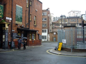 Ham Yard from Great Windmill Street