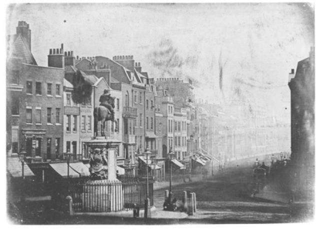 1839 whitehall from trafalgar square