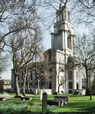 St. Anne's church, Limehouse