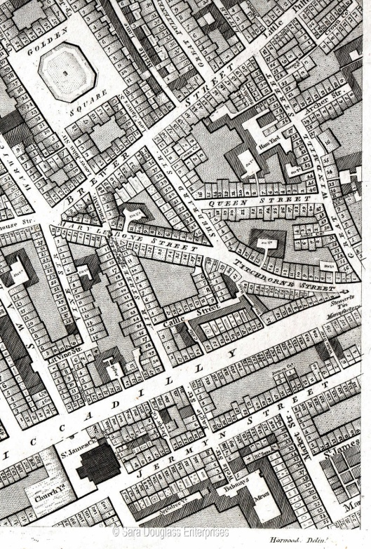 Part of Westminster, from Horwood's 1792 map