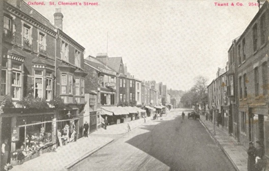 St. Clements Street, Oxford in the late 19th century