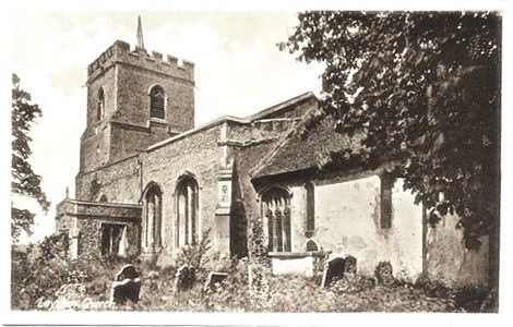 Parish church, Layston