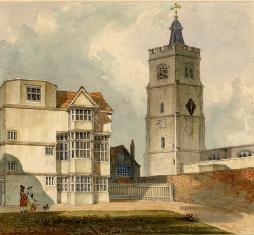 St. John at Hackney in the late 18th century
