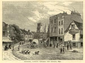Hackney in 1840