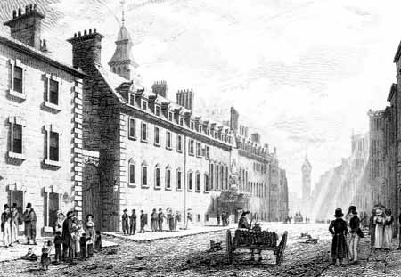 Glasgow University in the early 19th century
