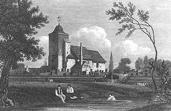 Old St Pancras church