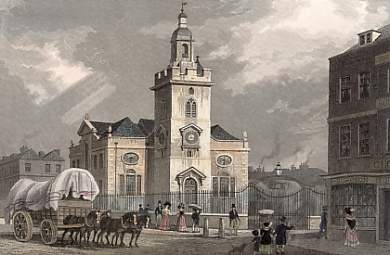 St Mary's church, Whitechapel