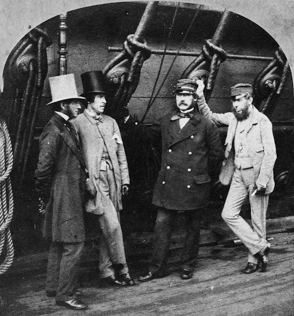 Victorian ship owners, with captain and first mate (via owanet.blogspot.com)