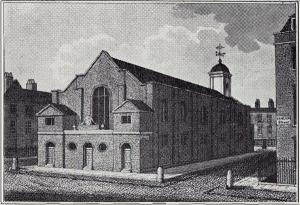 St George's Chapel, Mayfair in the 18th century