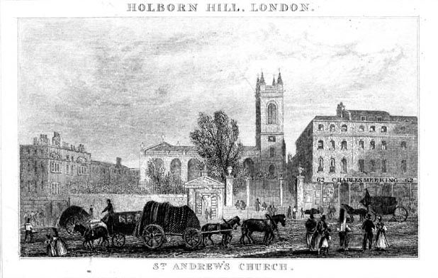 St Andrew's church, Holborn