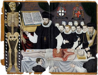 'The visceral lecture delivered by Barber-surgeon John Banister', anonymous, 1581