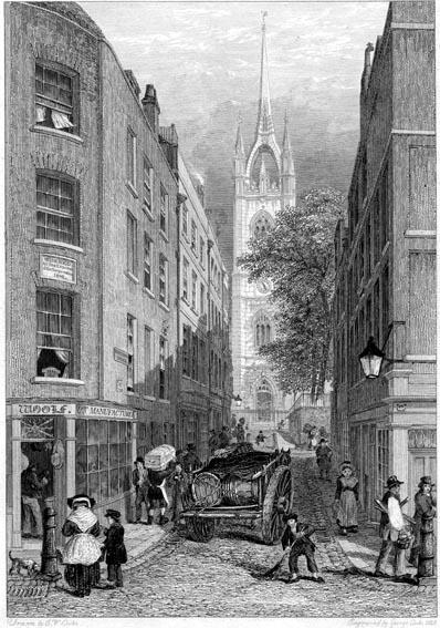 The church of St Dunstan in the East, London
