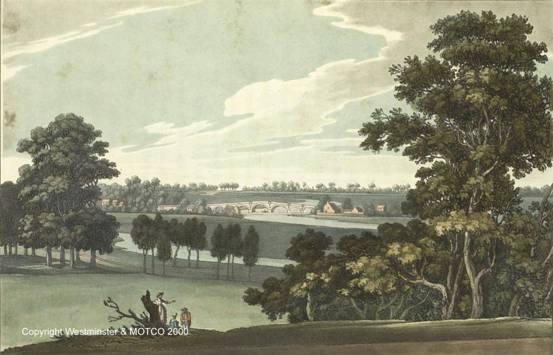 Chertsey in the 18th century