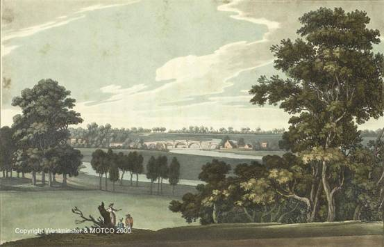Chertsey in the 18th century