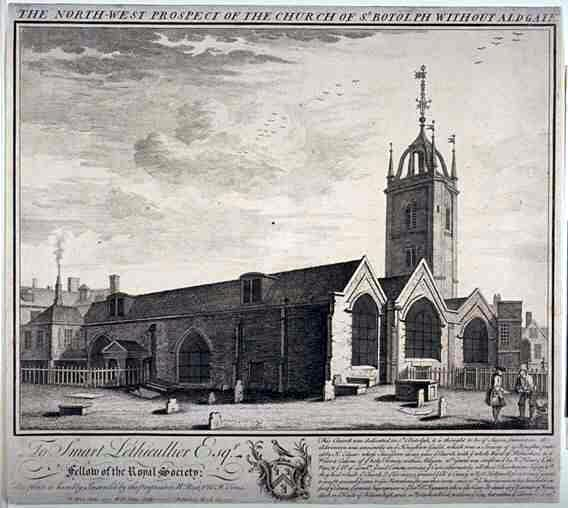 St Botolph without Aldgate, London