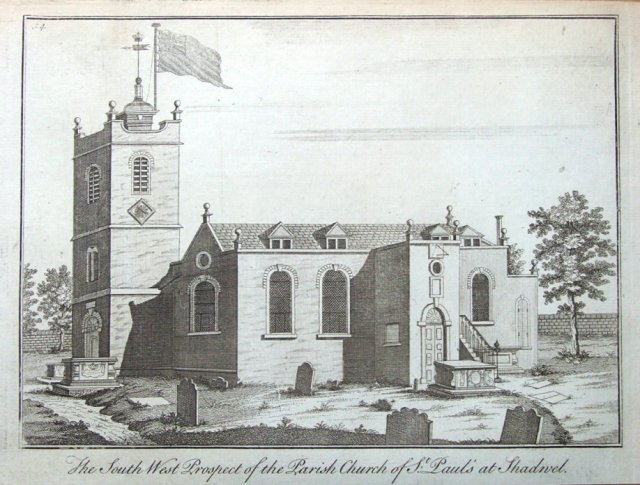 St Paul, Shadwell