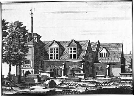 St John's church, Wapping