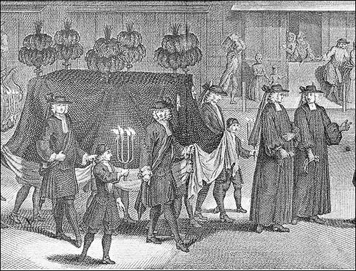 17th century funeral procession