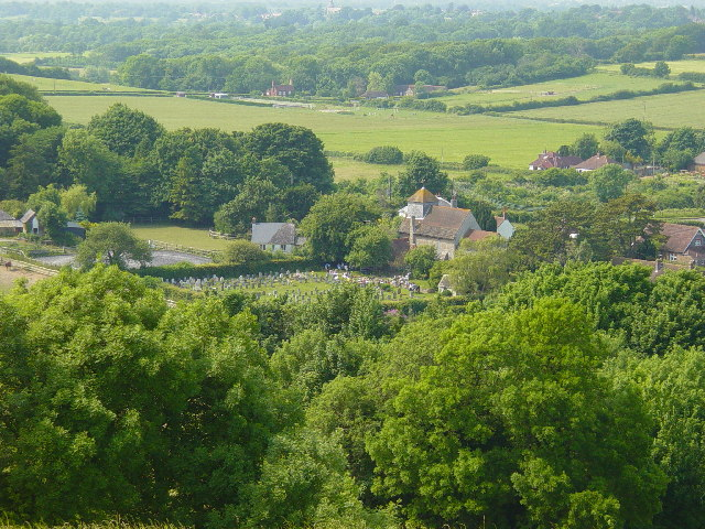 View of Clayton, Sussex