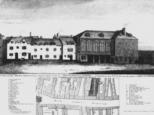 Marshalsea prison in 1773