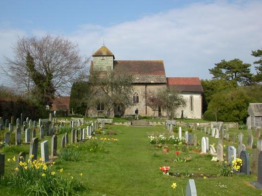 Parish church of St John the Baptist, Clayton, Sussex