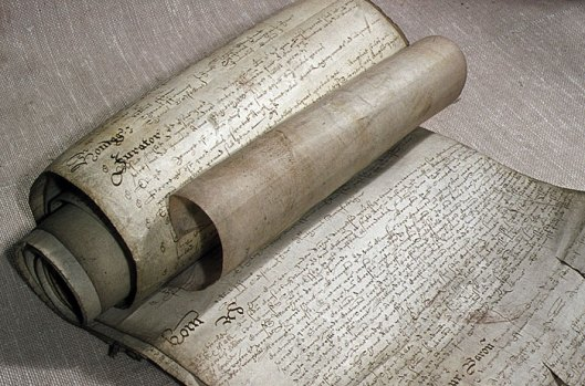 16th century manorial court rolls