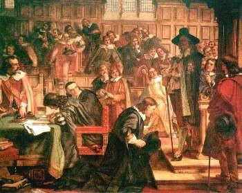 Charles I visiting Parliament