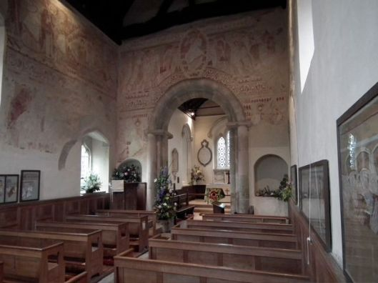 Interior of Clayton parish church (via englishbuildings.blogspot.com)
