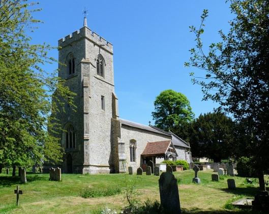 Parish church, Little Hadham