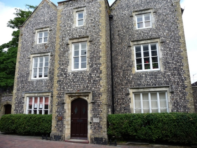 The Old Grammar School, Lewes, founded in 1512