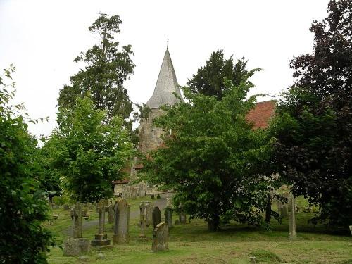 Burwash parish church