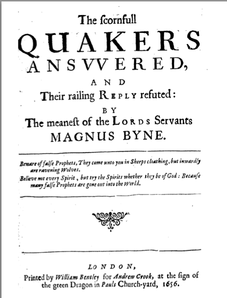 The cover of Magnus Byne's book