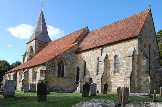 Parish church of St Bartholomew, Burwash
