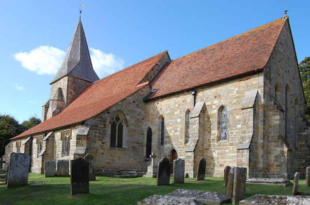 Parish church of St Bartholomew, Burwash