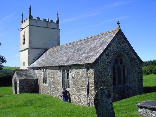 Parish church, Pyworthy, Devon