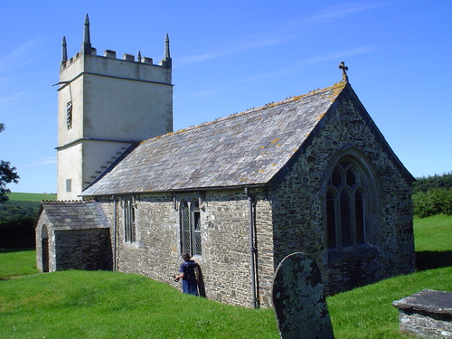 Parish church, Pyworthy, Devon
