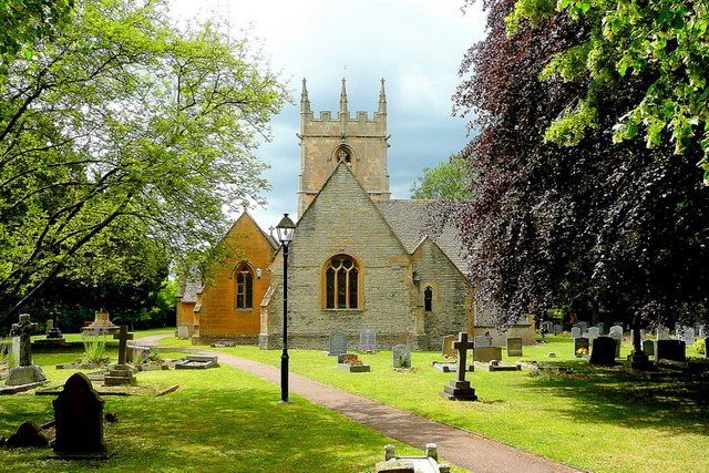 Parish church of St James, Badsey, Worcestershire