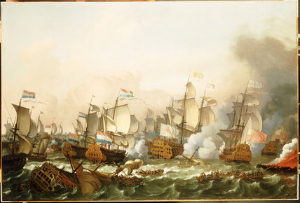 17th century naval battle