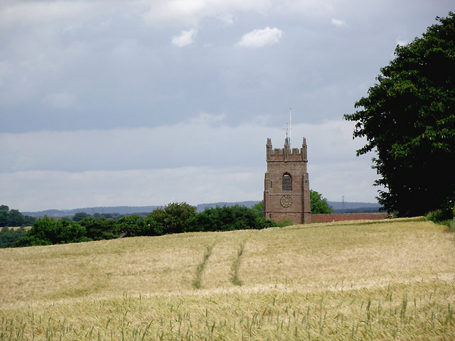 Parish church, Claverley, Shropshire
