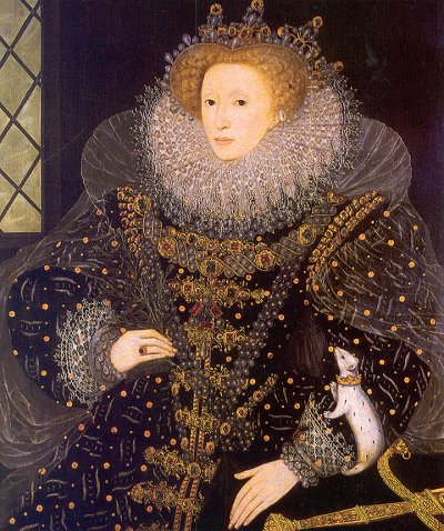'The Ermine Portrait' of Elizabeth I by Nicholas Hilliard