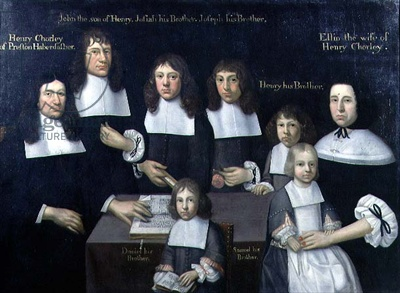 A haberdasher and his family (Henry Chorley of Preston), c.1680
