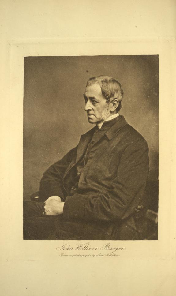 Rev. John William Burgon