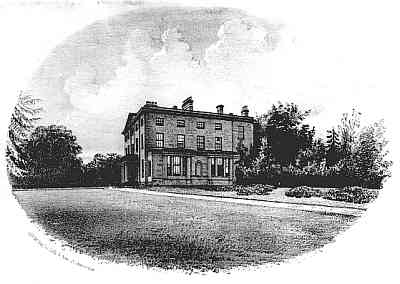 The late-18th century Perdiswell Hall