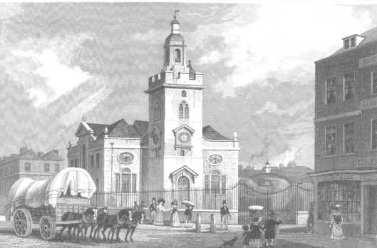 Church of St Mary, Whitechapel