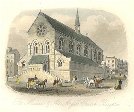 Church of St Michael and All Angels, Brighton, built with financial support from the Windle sisters