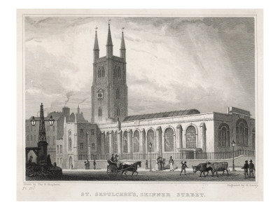 Church of St Sepulchre, Holborn