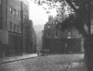 Early photograph of Wellclose Square