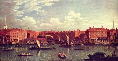 City of London in the 18th century