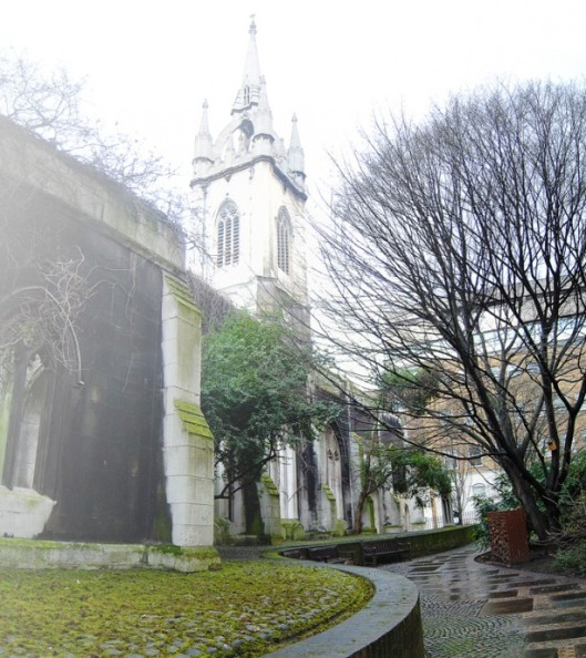 St Dunstan's in the East (via www.shape-shift.co.uk)