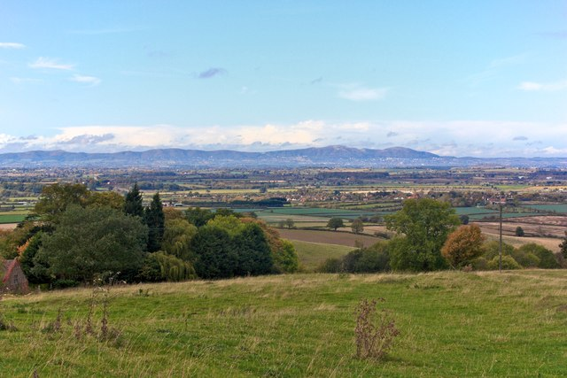 The Vale of Evesham, Worcestershire (via geograph.org.uk)